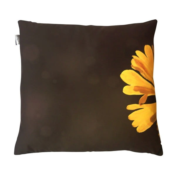 Poduszka z wypełnieniem Żółta, 50x50 cm