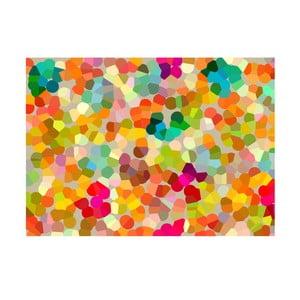 Winylowy dywan Puntillismo Infantil, 60x120 cm