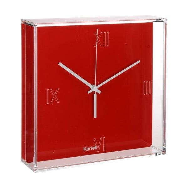 Czerwony zegar Kartell Tic & Tac New