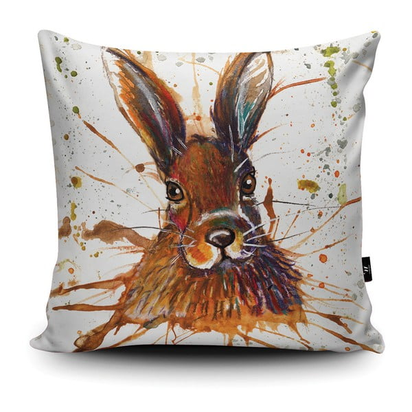 Poduszka Wraptious Splatter Hare