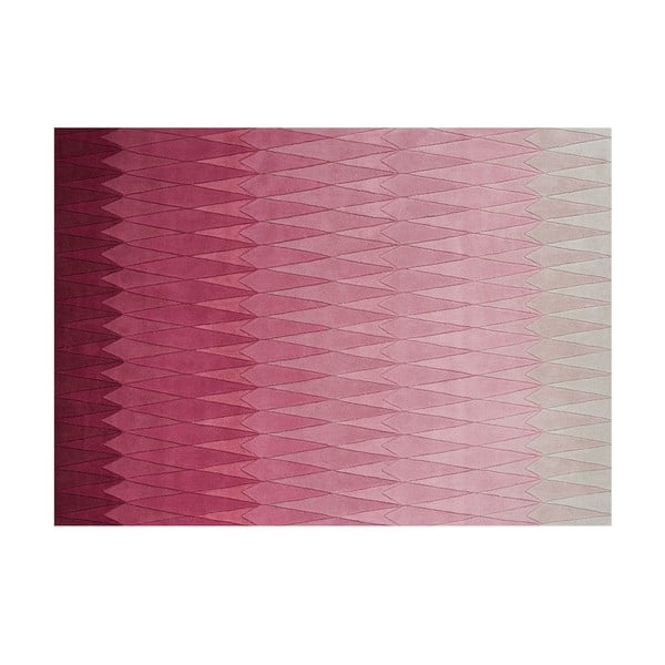 Wełniany dywan Acacia Pink, 170x240 cm