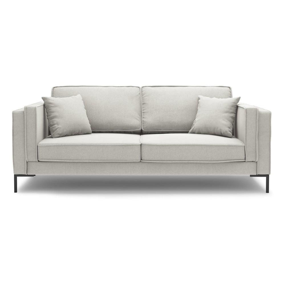 Beżowa sofa Milo Casa Attilio, 160 cm