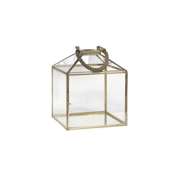Lampion Rope Brass, 30 cm
