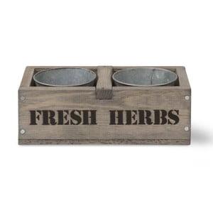 Zestaw 2 doniczek Fresh Herbs