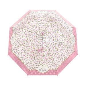 Parasol Windproof Pink Flowers