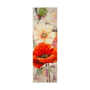 Obraz ręcznie malowany Mauro Ferretti Poppy, 40x120cm