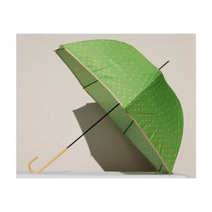 Parasol Dots, zielony