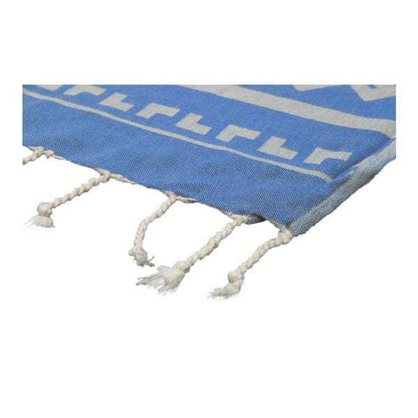 Ręcznik hammam Ottoman Blue, 95x175 cm