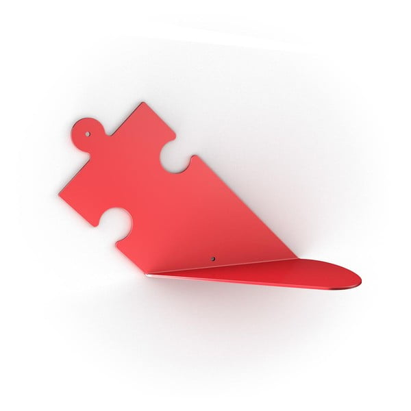 Półka Puzzle, czerwona