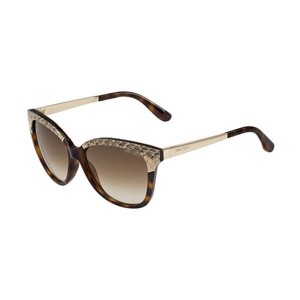 Okulary przeciwsłoneczne Jimmy Choo Ines Havana/Brown