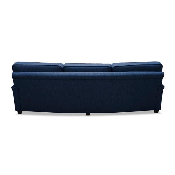Niebieska sofa 3-osobowa Vivonita William