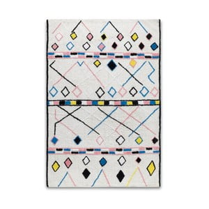 Kolorowy dywan z bawełny HF Living Morocco, 120x170 cm