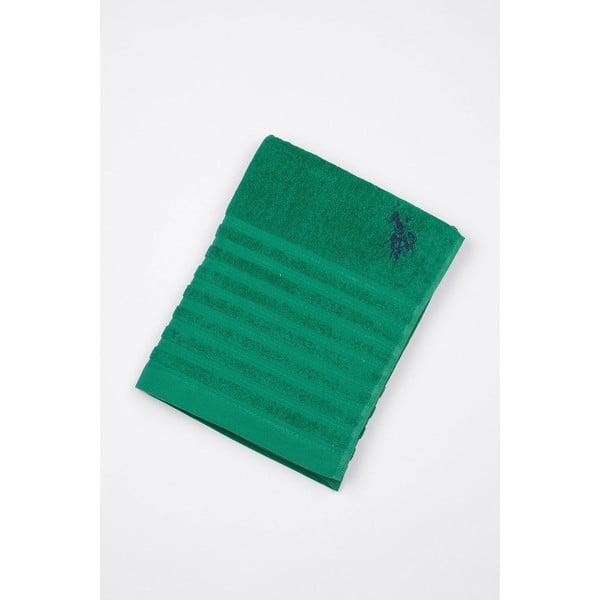Ręcznik U.S. Polo Assn. Bath Green, 90x150 cm