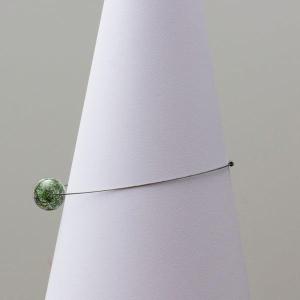 Szklany naszyjnik ko-ra-le Wired, zielony