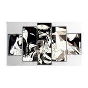 Pięcioczęściowy obraz Drake, 100x60 cm