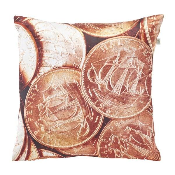 Poduszka Coins Copper, 45x45 cm