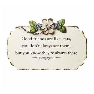 Dekoracyjny napis Heaven Sends Good Friends