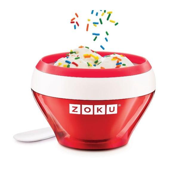 Czerwona maszynka do lodów Zoku Ice Cream