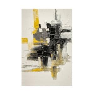 Dywan Eko Rugs Farbles Grey/Yellow, 80 x 150 cm