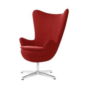 Czerwony fotel obrotowy My Pop Design Indiana