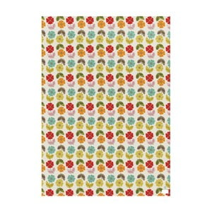 Zestaw 25 arkuszy papieru dekoracyjnego Rex London Poppy Mid Century