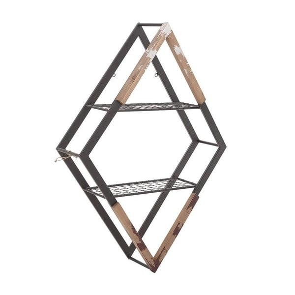 Półka ścienna InArt Wooden Metal Orbit
