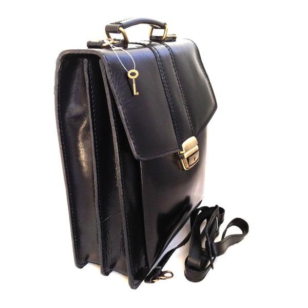 Czarna torba skórzana Joanna
