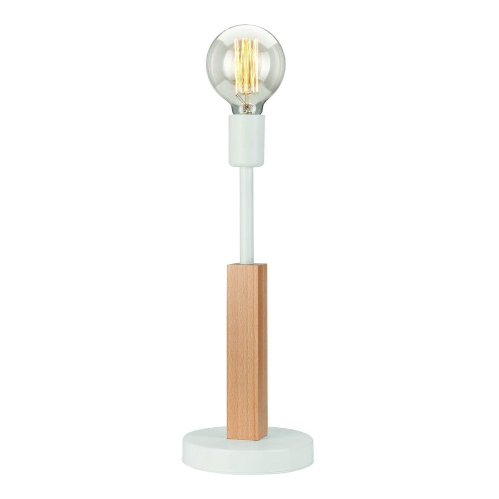 Biały lampa stołowa Lamkur Orazio