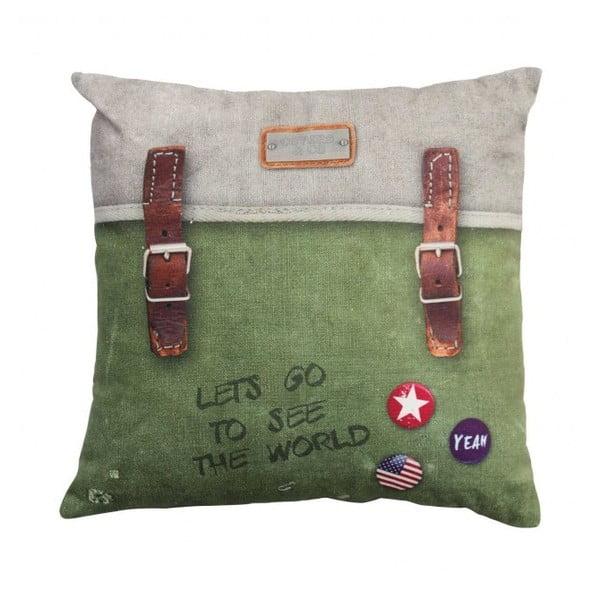 Poszewka na poduszkę COVERS & CO Backpack Green, 40x40 cm