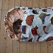 Dziecięcy śpiworek Bartex Wesołe buźki, 70x180 cm