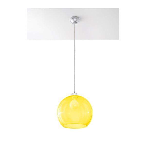 Żółta lampa wisząca Nice Lamps Bilbao