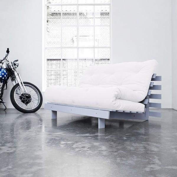 Sofa rozkładana Karup Roots Cool Gray/Natural