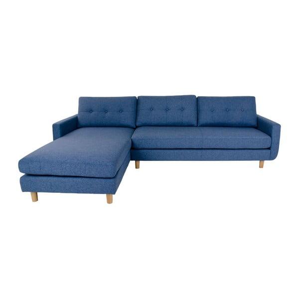 Niebieski narożnik lewostronny House Nordic Artena