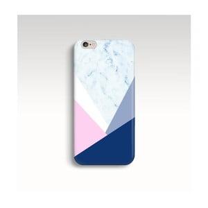 Etui na telefon Marble Navy Triangle na iPhone 6/6S