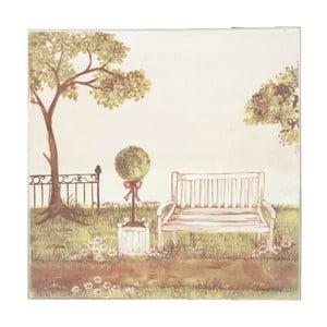 Obraz Bench, 25x25 cm