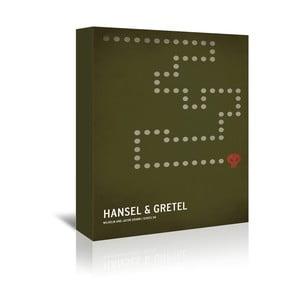 Obraz na płótnie Hansel Gretel With Text