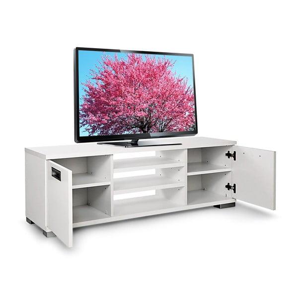 Stolik telewizyjny Nasya, biały
