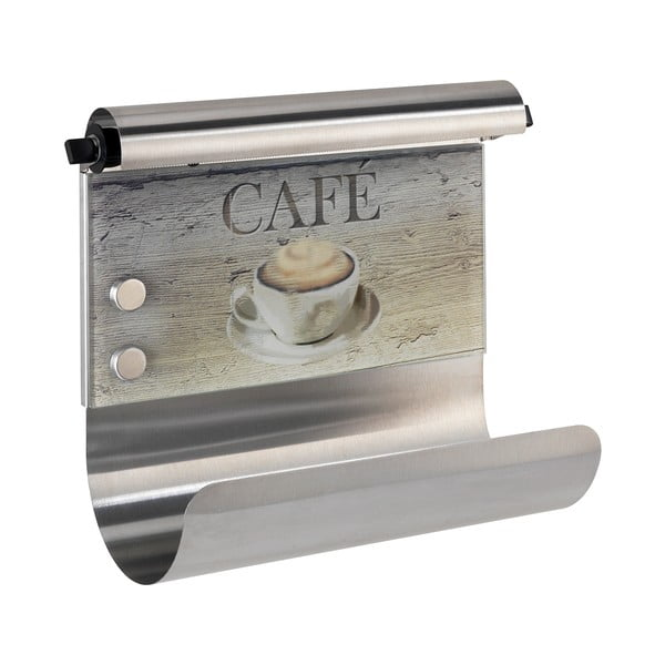 Magnetyczny uchwyt na ręcznik papierowy i folię Wenko Café