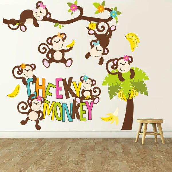 Naklejka naścienna Cheeky monkey