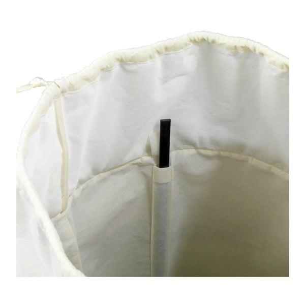 Beżowy kosz na pranie Wenko Ringo, 68 l