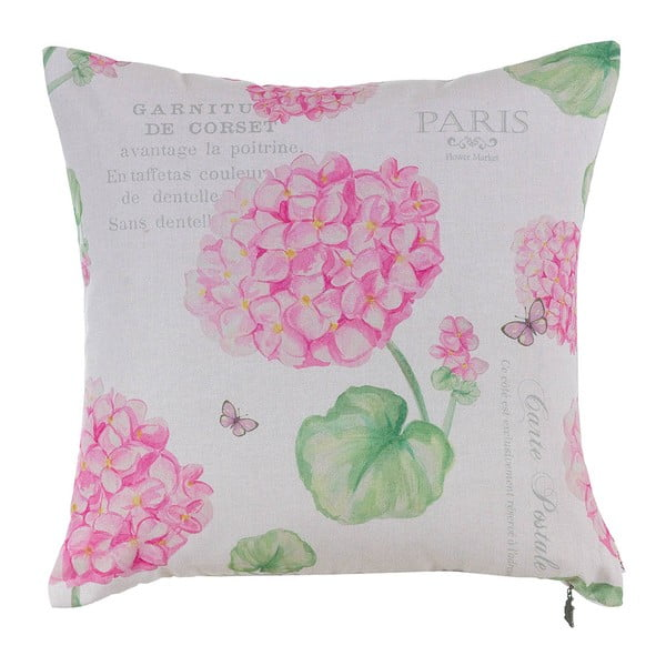 Poduszka z wypełnieniem Paris Hortensia