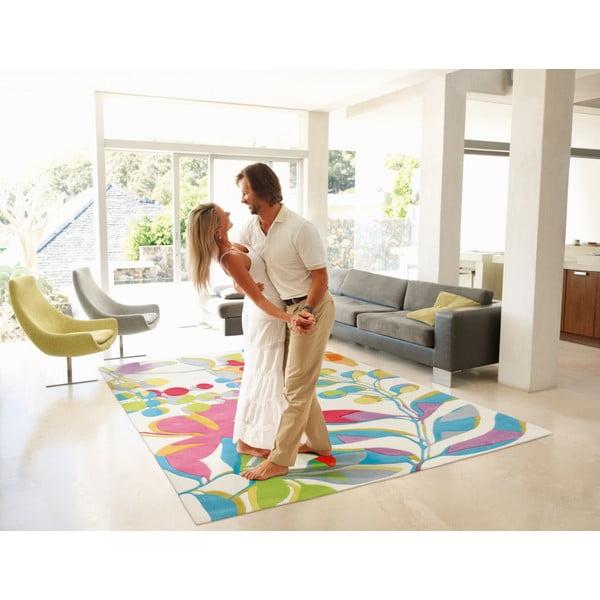 Ręcznie tkany dywan Spirit Leaves, 140x200 cm