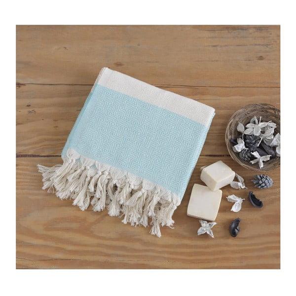 Ręcznik hammam Elmas Mint, 100x180 cm