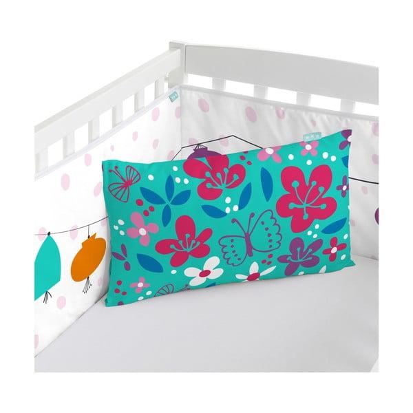 Ochraniacz do łóżeczka Cherry Blossom, 70x70x70 cm