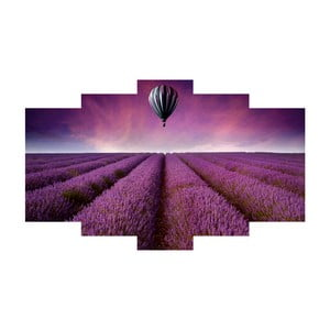 Pięcioczęściowy obraz Provence