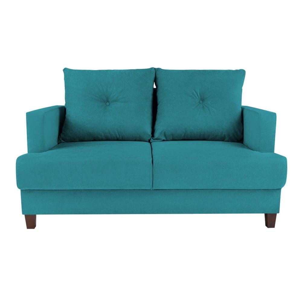 Turkusowa sofa 2-osobowa Melart Lorenzo