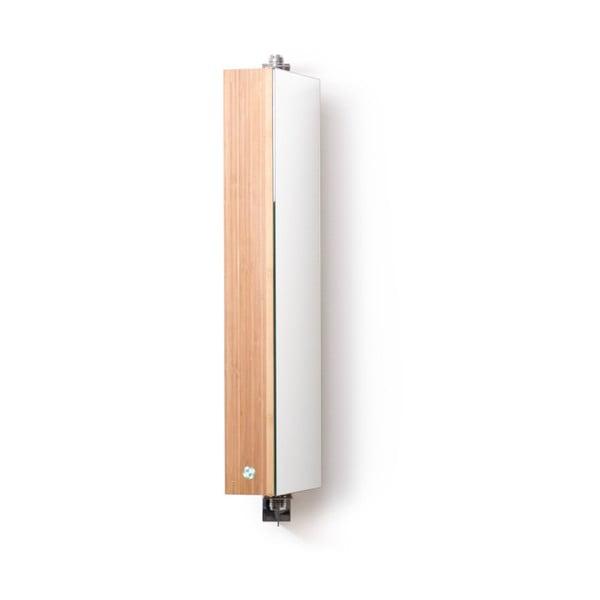 Lustro łazienkowe z szafką Wireworks Domain Bamboo, 71 cm