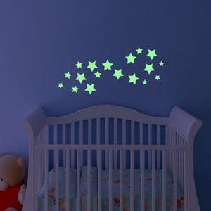 Naklejka świecąca w ciemności Fanastick Simple Stars