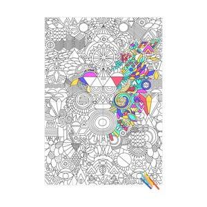 Kolorowanka Patchwork