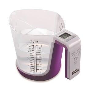 Cyfrowa waga i miarka JOCCA Purple Cup